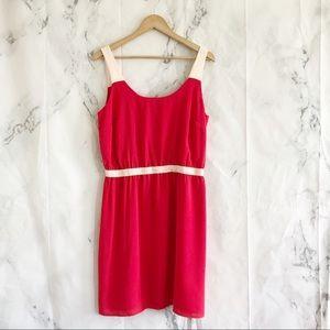 Ann Taylor loft factory large 10 pink tank dress